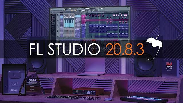 Interface da DAW FL Studio 20.8.3.1773 | Producer Edition