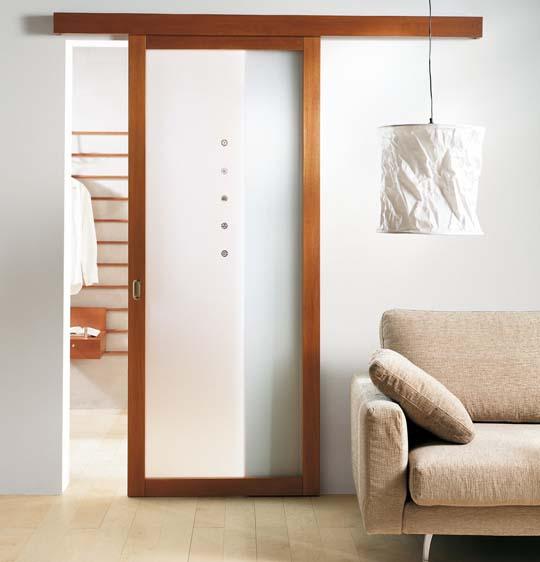 stylish interior with sliding glass doors home. Black Bedroom Furniture Sets. Home Design Ideas