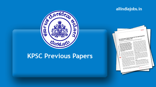 KPSC Previous Papers PDF Download | Ashrama School Teachers