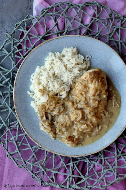 Leichtes Zwiebel-Sahne-Hähnchen | Kochen | Rezept | Essen | Weight Watchers