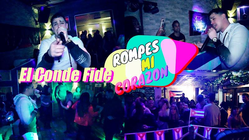 El Conde Fide - ¨Rompes mi corazón¨ Videoclip. Portal Del Vídeo Clip Cubano. Música cubana. CUBA.