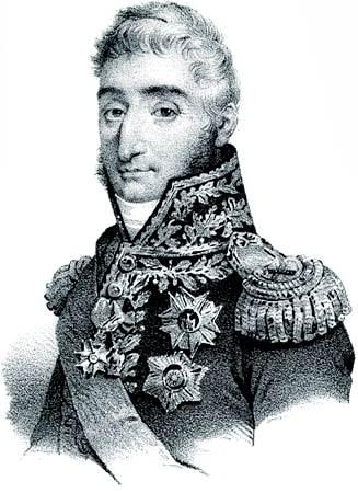 Pierre-François-Charles Augereau, litografía sin fecha.