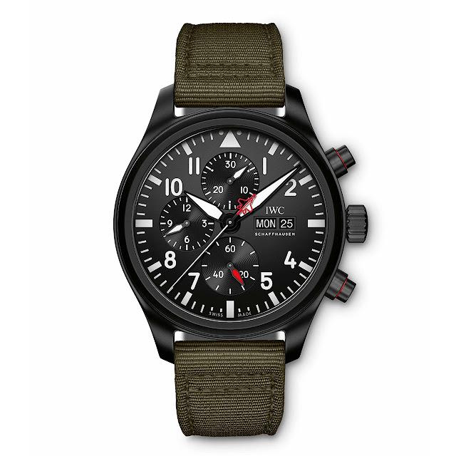 "IWC Pilot's Watch Chronograph Top Gun Edition ""SFTI"" IW389104"