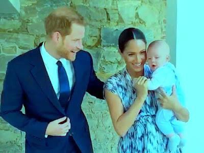 الأمير هاري وميجان يتقدمان بشكوى ضد مجهول لالتقاطه صورا لنجلهما خلسة