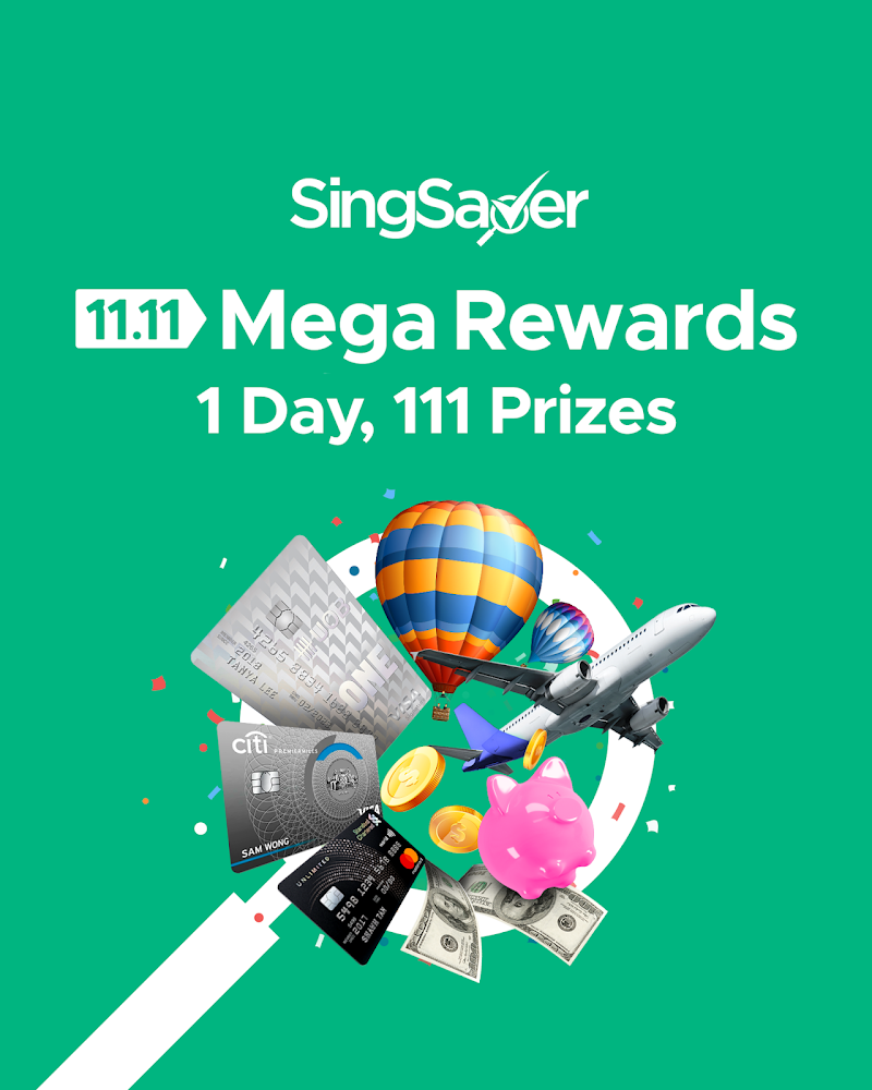 Act fast to get $300 cash from SingSaver this 11 November