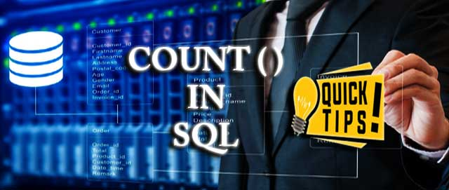 COUNT Function in SQL Server