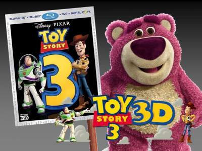 Toy Story 3 3D Full Movies Hindi + English Dual Audio 720p 1080p 2010