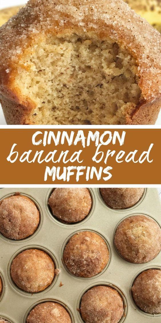 Ultimate Cinnamon Banana Bread Muffins