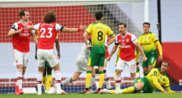 Arsenal vs Norwich City 4–0 Highlights