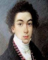 Simón Bolívar joven a los 17 años