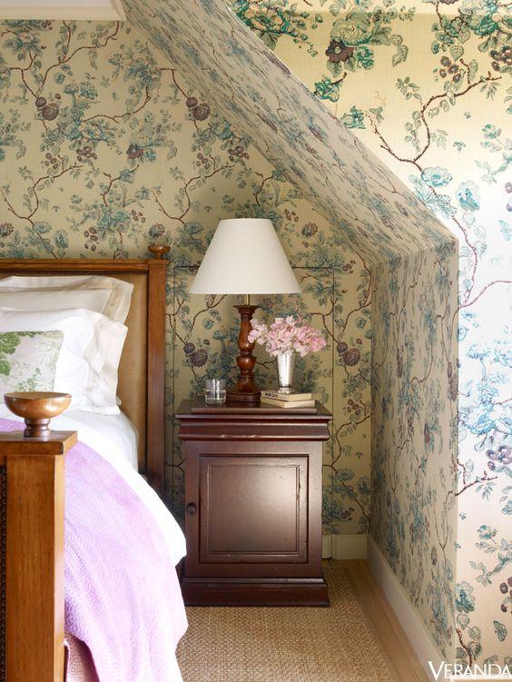 Eye For Design Cozy Attic Bedrooms