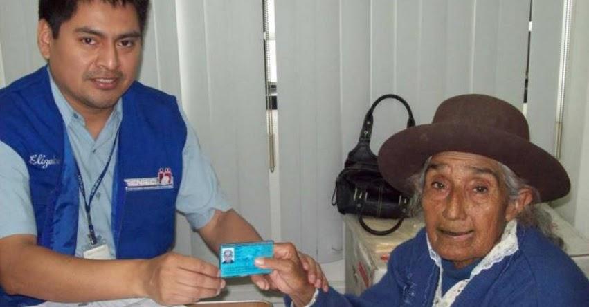 RENIEC extiende para todo el 2018 la entrega gratuita de DNI a población vulnerable - www.reniec.gob.pe