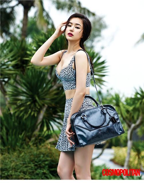 Hoa hậu đẹp nhất Hàn Quốc khoe dáng nóng bỏng tại Đà Nẵng