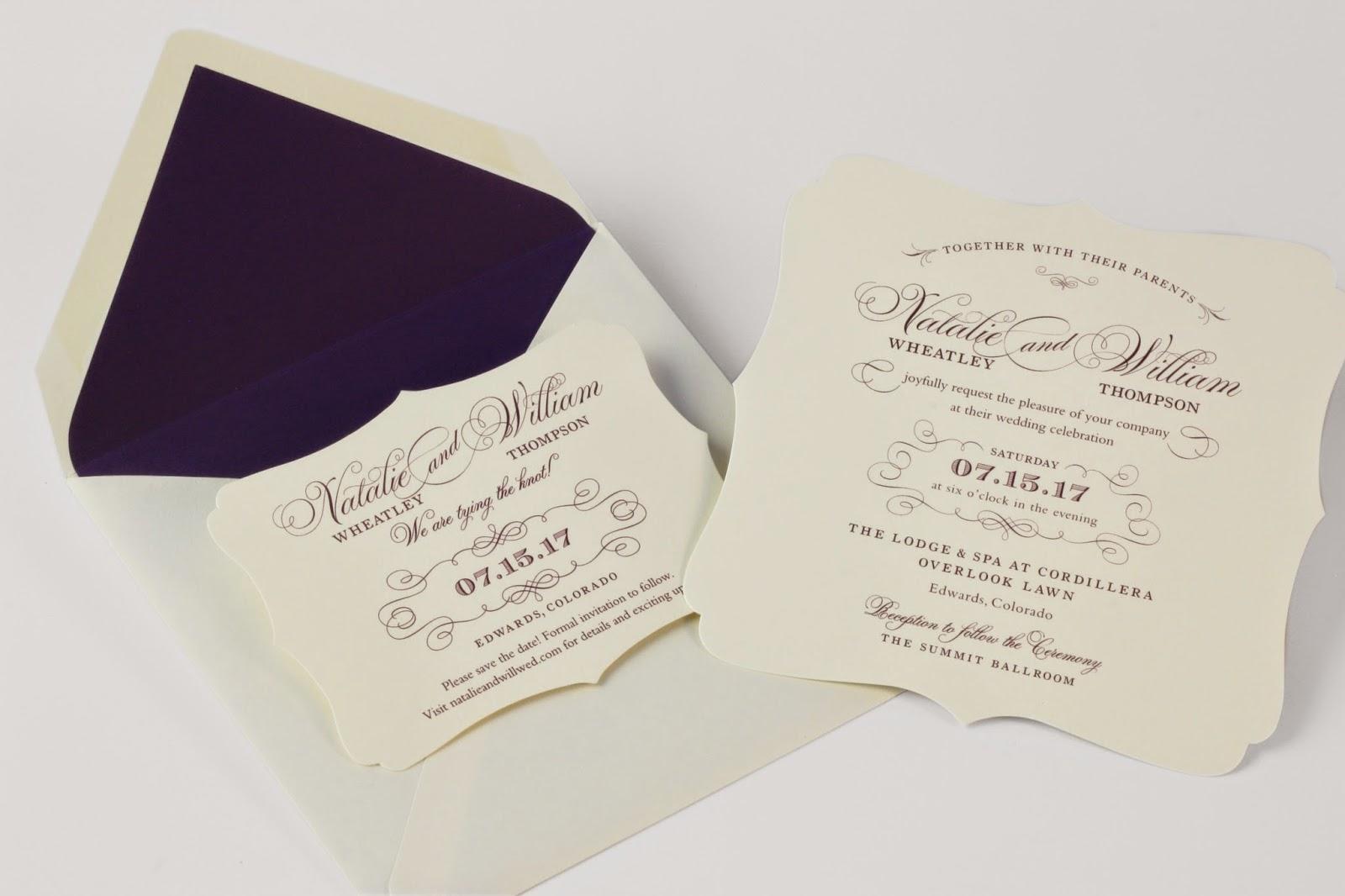 Wedding Invitations William Arthur: William Arthur Blog: Delightful New Wedding Invitation