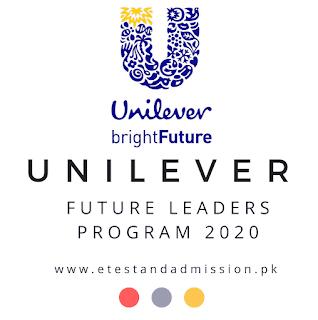 Unilever Future Leaders Program 2020