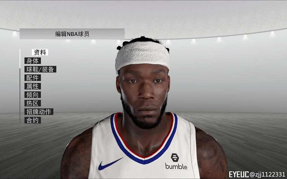 2K19 NBA Montrezl zjj1122331 - Cyberface by  NBA 2K Harrell