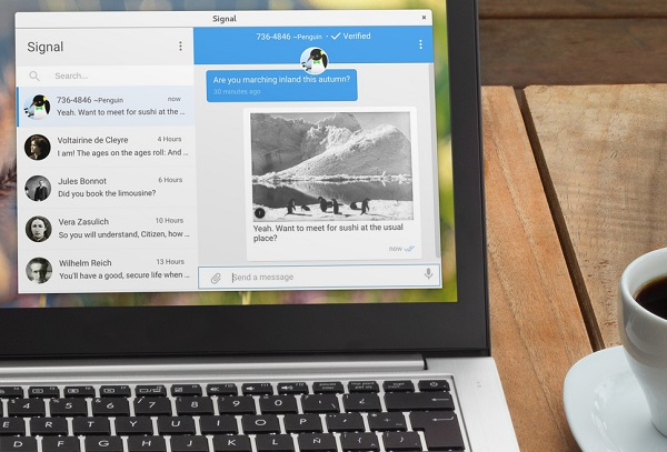 Signal Desktop app for Linux, Mac and Windows launched
