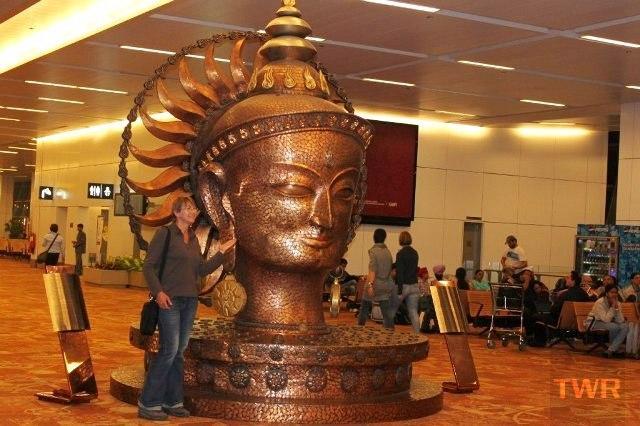 buddha delhi airport