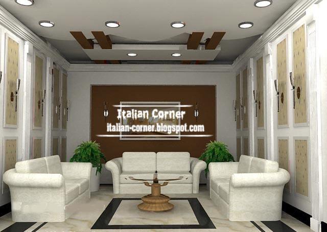 italian false gypsum ceiling design suspended ceiling
