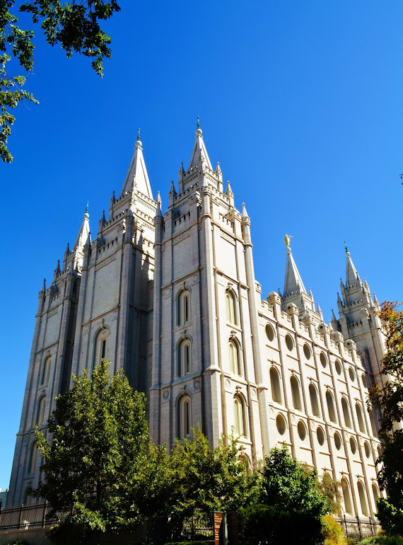 Mormon Temple - Salt Lake City