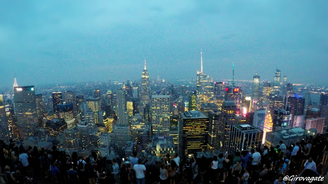 panorama Top of the Rock NYC