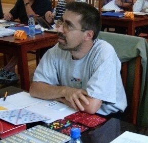 Festival International de Scrabble Francophone Roumanie Poiana Brasov 2004 - Jacki Parpillon