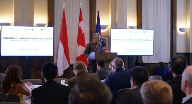 Pengusaha Energi Kanada Siap Tingkatkan Kerja Sama dengan RI