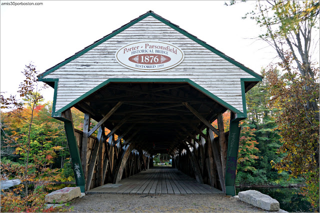 Porter-Parsonsfield Bridge, Maine