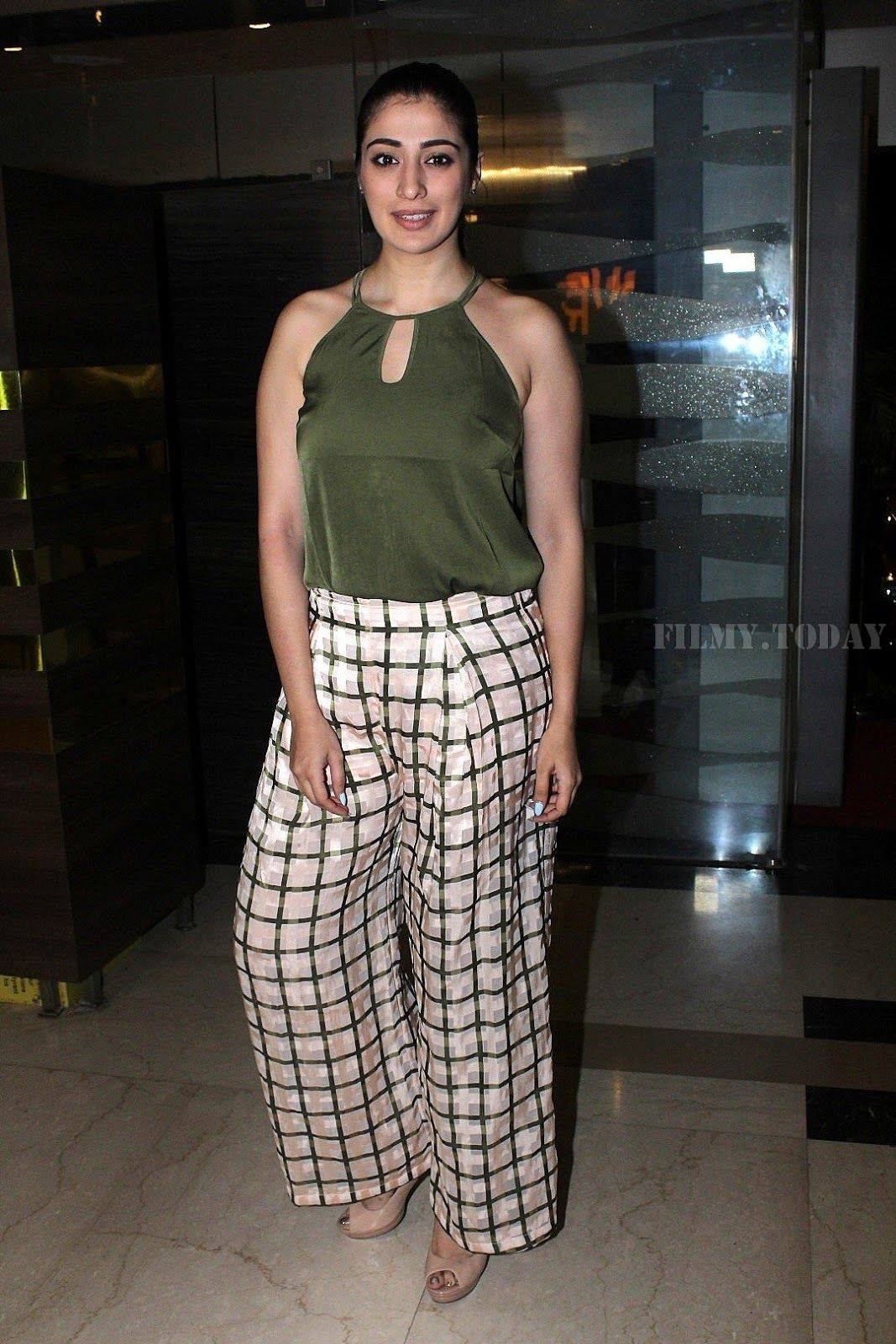Julie 2 actress Raai Laxmi Photos at Special Screening of her upcoming Film