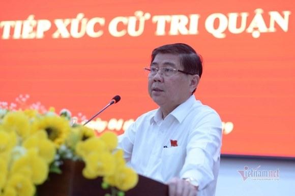 Chủ tịch TP.HCM giải thích vì sao ông Tất Thành Cang vẫn còn là Thành ủy viên dù đã bị Trung ương kỷ luật
