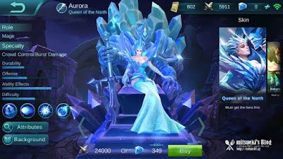Cara Build Item Aurora Menjadi Killer (Fighter/Assassin)