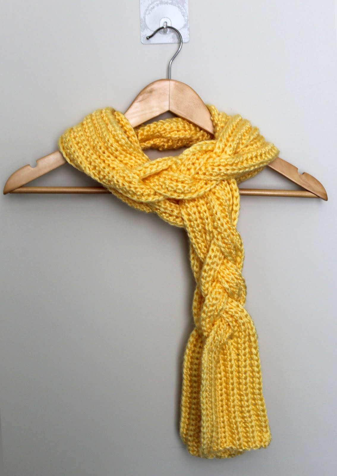 c31a0c0c562 Rapunzel s Braided Scarf Crochet Pattern - Once Upon a Cheerio