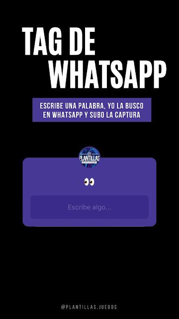▷ Tag de Whatsapp para Instagram [Plantillas]