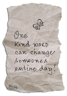 one kind word can change