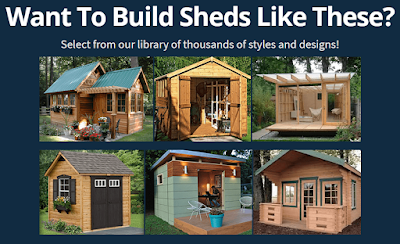 Get Library of Thousands of Styles and Designs of SHEDS