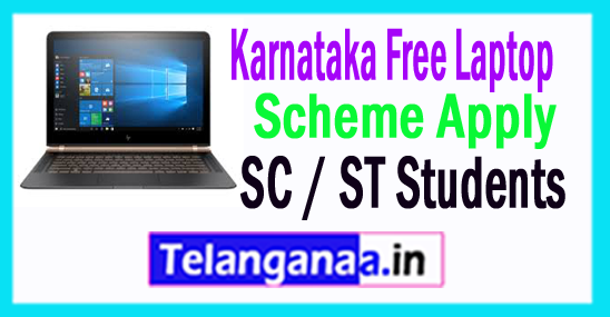 Free Laptop Scheme for College Students in Karnataka