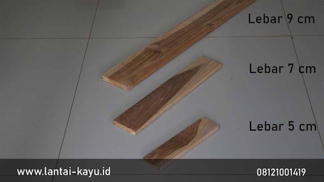 ukuran lantai kayu mempengaruhi harga jadi murah
