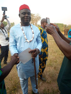 Unical Registrar is Honoured By Edebia Kingdom