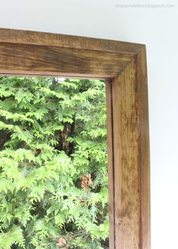 simple frame detail