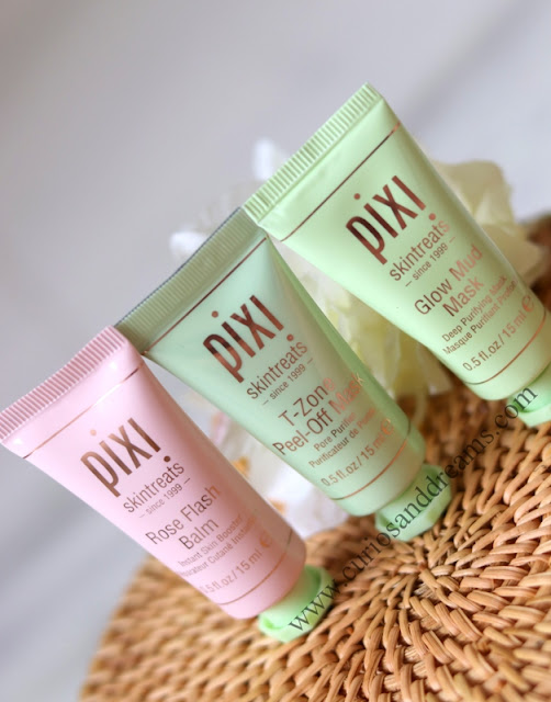Pixi Skintreats Multi-Masking Medley Review, Pixi beauty India, Pixi India, Pixi review India