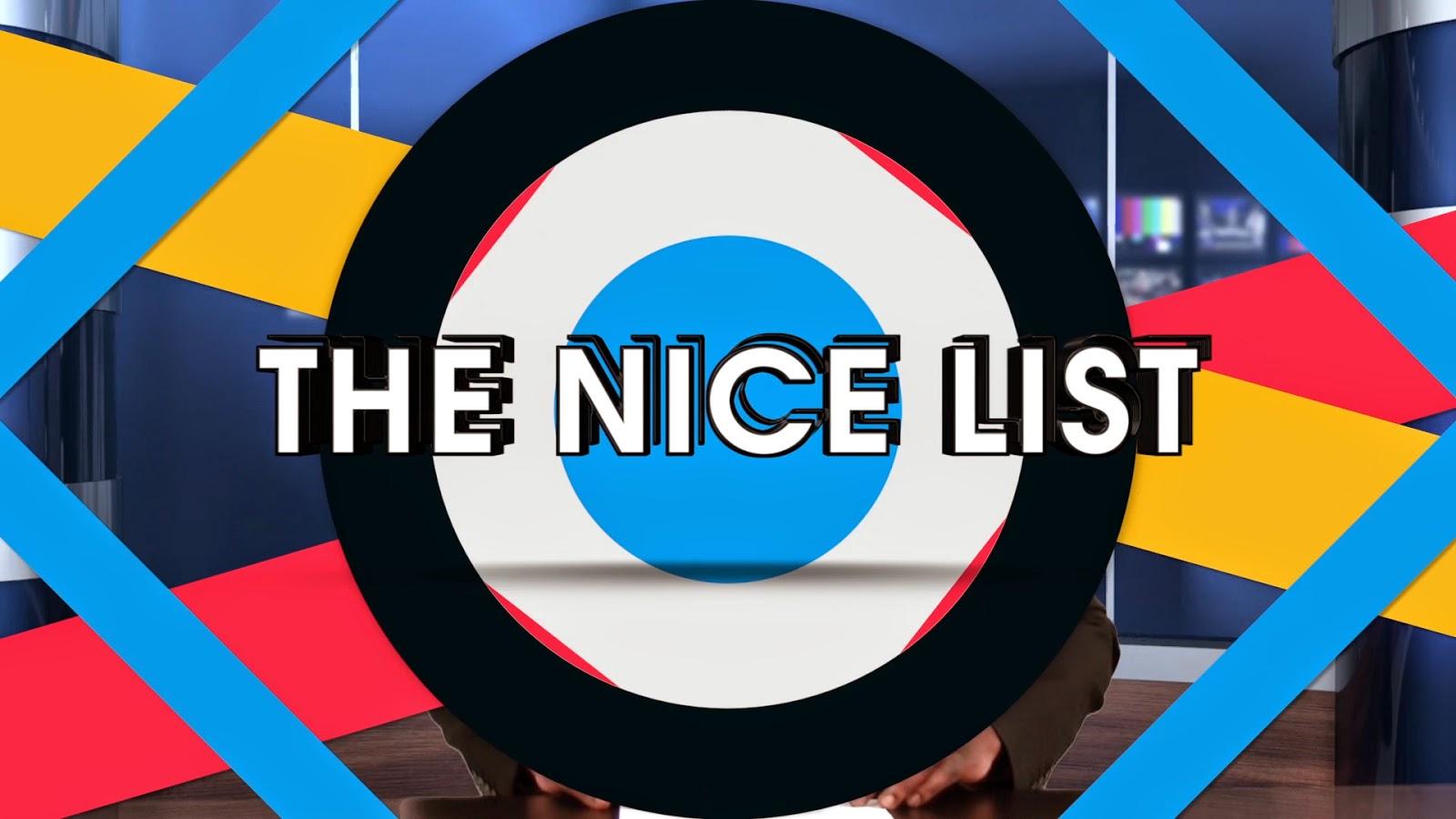 The Nice List (John Boehner, John Ross Harris, R  Kelly