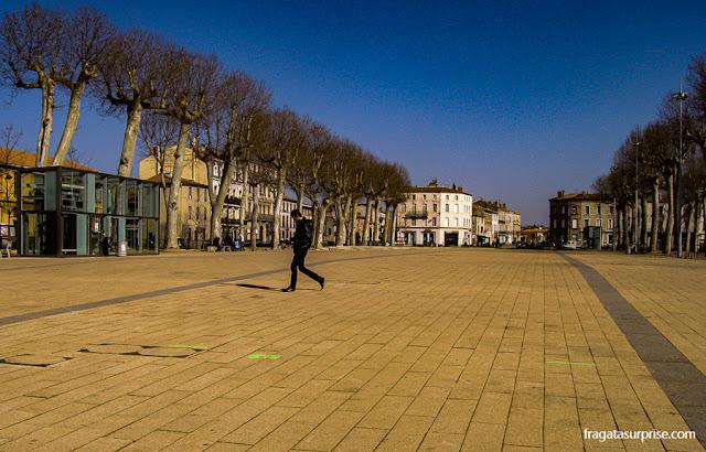 Square Gambetta, Bastide de Carcassonne