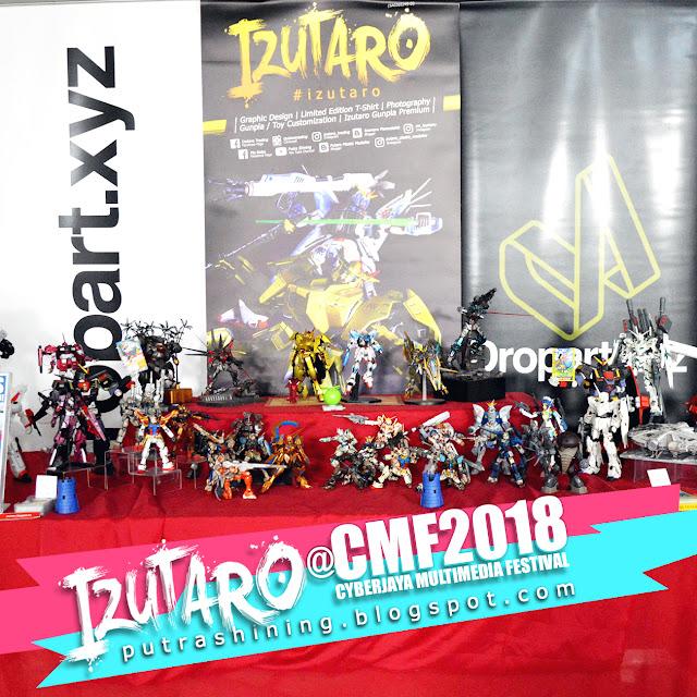 Izutaro at Cyberjaya Multimedia Festival 2018 (CMF 2018)