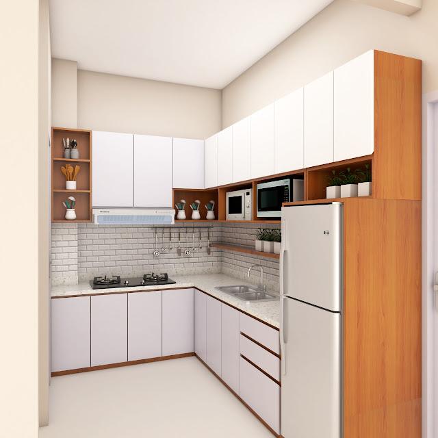 Kitchen Set Modern Minimalist di Jakarta Timur