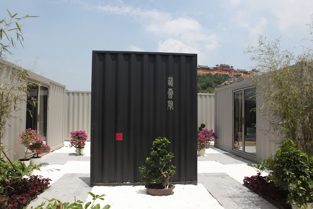 Boutique Hotel Built from Shipping Containers, China 3