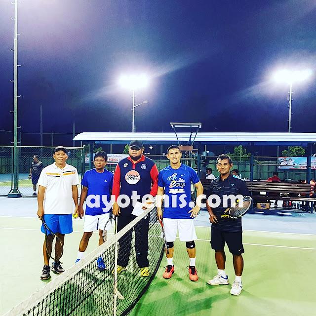 Tenis Pornas Korpri: Unggulan 1 & 2 Tumbang, Inilah Tim Yang Lolos ke Semifinal