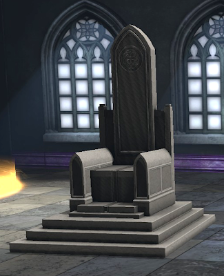 DCUO Furniture: King's Throne