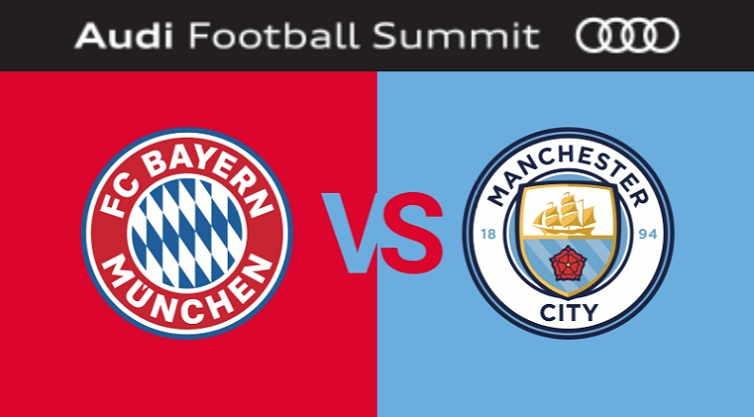 Hasil dan Cuplikan Gol Bayern Munchen vs Manchester City Skor Akhir 2-3 [ICC 2018]