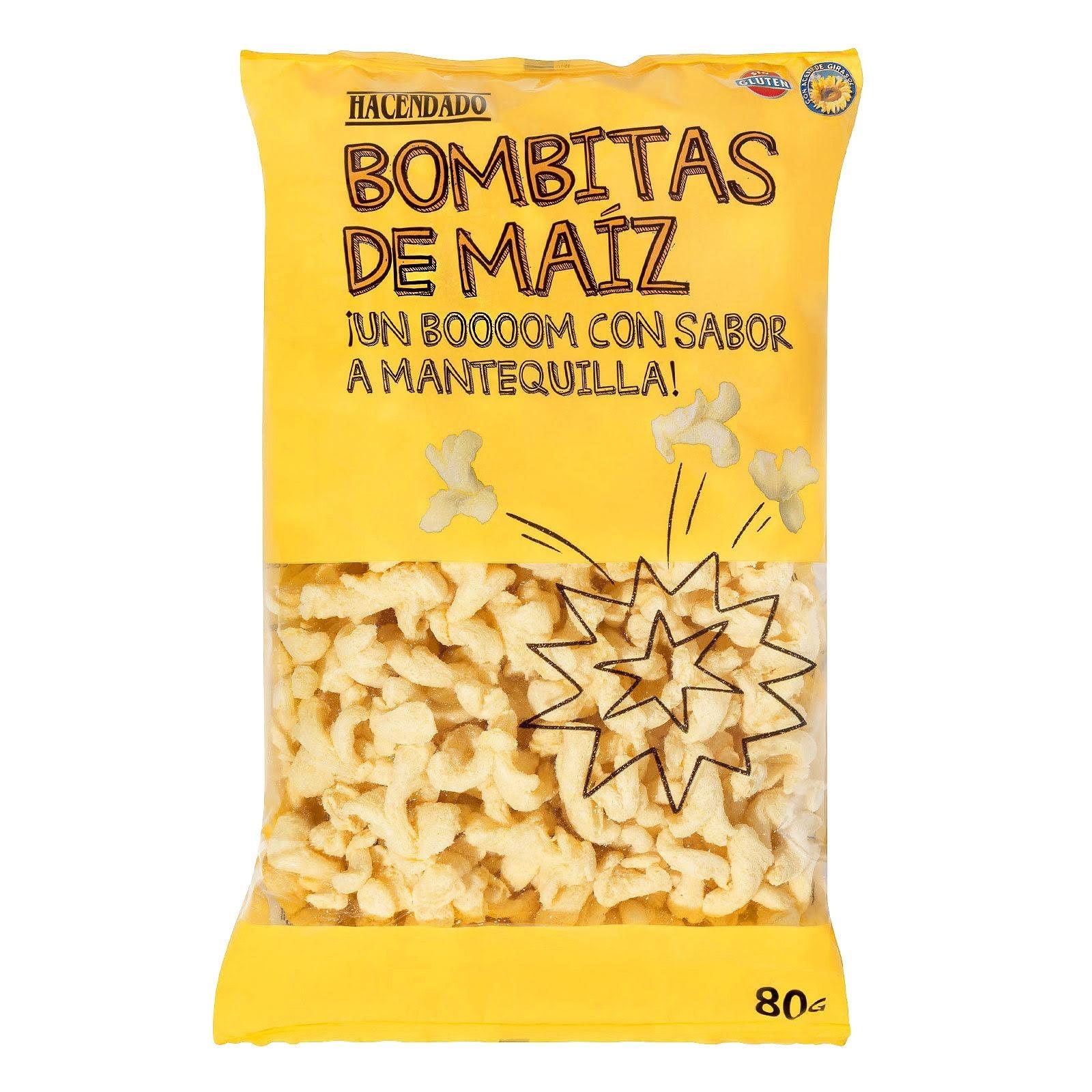 Bombitas de maíz sabor mantequilla Hacendado