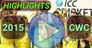 ICC CWC 2015 Video Highlights